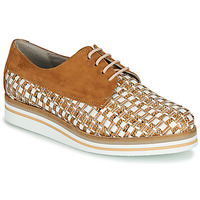 Shoes Women Derby shoes Dorking ROMY Brown / White