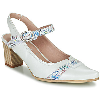 Shoes Women Court shoes Dorking LEA White