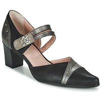 Shoes Women Court shoes Dorking LEA Black / Gold