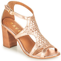 Shoes Women Sandals Ravel COREEN Pink / Gold