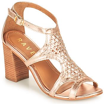 Shoes Women Sandals Ravel COREEN Pink / Gold