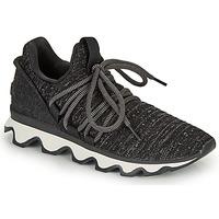 Shoes Women Low top trainers Sorel KINETIC LACE Black