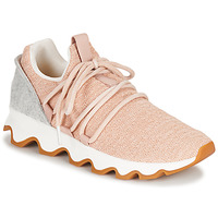 Shoes Women Low top trainers Sorel KINETIC LACE Pink