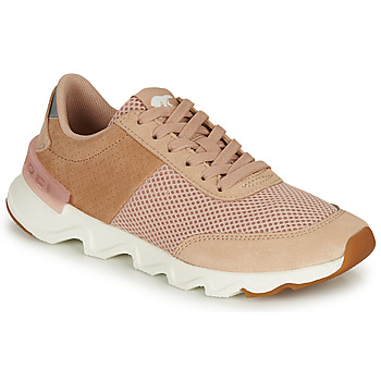 Shoes Women Low top trainers Sorel KINETIC LITE LACE Beige / Pink