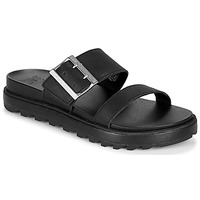 Shoes Women Sandals Sorel ROAMING BUCKLE SLIDE Black