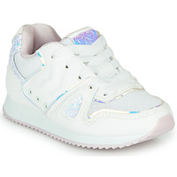 Shoes Girl Low top trainers Hummel MARATHONA SHINE JR White