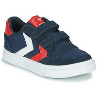 Shoes Children Low top trainers Hummel STADIL LOW JR Blue