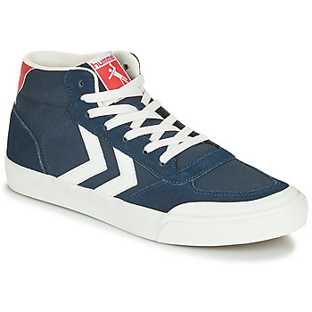 Shoes Men High top trainers Hummel STADIL 3.0 CLASSIC HIGH Blue