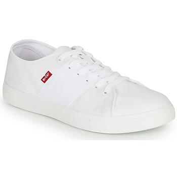 Shoes Men Low top trainers Levi's PILLSBURY White
