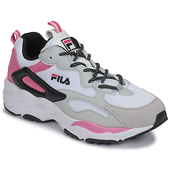 Shoes Women Low top trainers Fila RAY TRACER CB WMN White / Pink