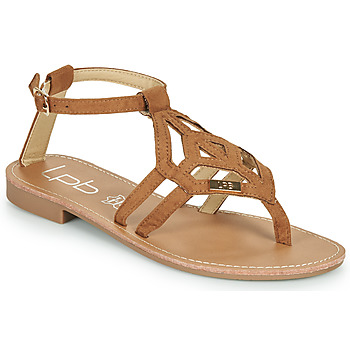 Shoes Women Sandals Les Petites Bombes VANESSA Camel