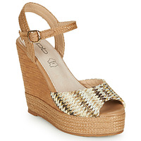 Shoes Women Sandals Les Petites Bombes PAOLA Beige