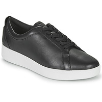 Shoes Women Low top trainers FitFlop RALLY SNEAKERS Black
