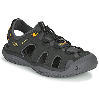 Shoes Men Sports sandals Keen SOLR SANDAL Black