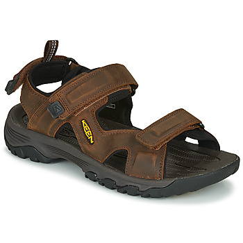 Shoes Men Sports sandals Keen TARGHEE III OPEN TOE SANDAL Brown
