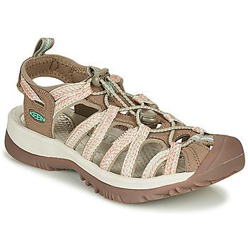 Shoes Women Sports sandals Keen WHISPER Beige