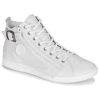 Shoes Women High top trainers Pataugas PALME/N White