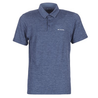 material Men short-sleeved polo shirts Columbia TECH TRAIL POLO Blue