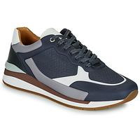 Shoes Men Low top trainers BOSS LEMENT RUNN LYEM Marine / Grey