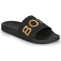 Shoes Men Sliders BOSS BAY SLID RBLG Black