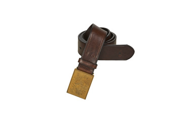 Clothes accessories Men Belts Polo Ralph Lauren PLO HRTG BLT-CASUAL-SMOOTH LEATHER Brown