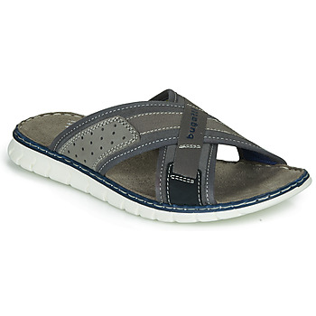 Shoes Men Sliders Bugatti CORFU Grey
