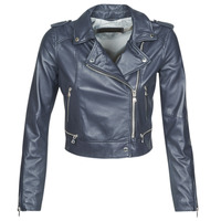 material Women Leather jackets / Imitation le Oakwood YOKO Marine