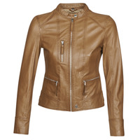 material Women Leather jackets / Imitation le Oakwood EACH Cognac