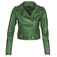 material Women Leather jackets / Imitation le Oakwood KYOTO Green