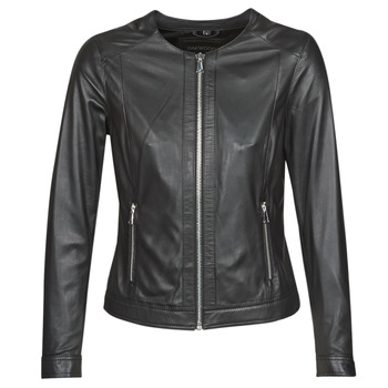 material Women Leather jackets / Imitation le Oakwood PLEASE Black