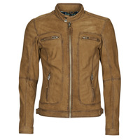 material Men Leather jackets / Imitation le Oakwood PLEASE Cognac