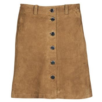 material Women Skirts Oakwood KEREN Cognac