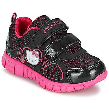 Shoes Girl Low top trainers Hello Kitty BASEMO PHYL Black
