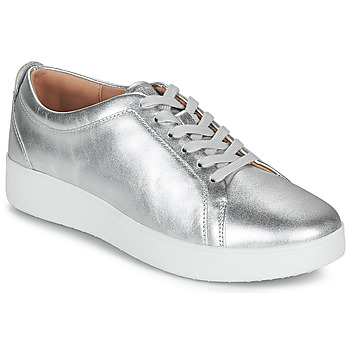 Shoes Women Low top trainers FitFlop RALLY Silver