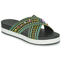 Shoes Women Mules Desigual SHOES_NILO_BEADS Black