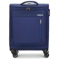 Bags Soft Suitcases American Tourister HEAT WAVE 55CM Marine