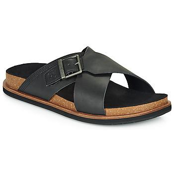 Shoes Men Mules Timberland AMALFI VIBES CROSS SLIDE Black