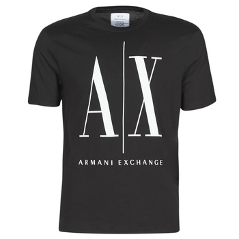 material Men short-sleeved t-shirts Armani Exchange HULO Black