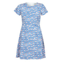 material Women Short Dresses Molly Bracken MELIO Blue