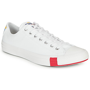 Shoes Low top trainers Converse CHUCK TAYLOR ALL STAR LOGO STACKED - OX White