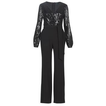 material Women Jumpsuits / Dungarees Lauren Ralph Lauren Alexis Black