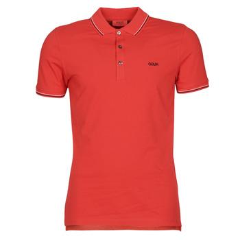 material Men short-sleeved polo shirts BOSS DINOSO 202 Red