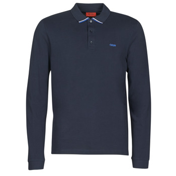material Men long-sleeved polo shirts HUGO DONOL 203 Marine