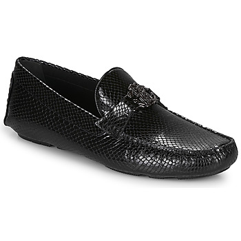 Shoes Men Loafers Roberto Cavalli 1038A Black