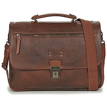 Bags Men Briefcases Wylson HANOI Brown