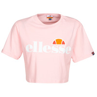 material Women short-sleeved t-shirts Ellesse ALBERTA Pink