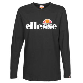 material Women Long sleeved shirts Ellesse GRAZIE Black
