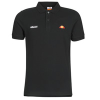 material Men short-sleeved polo shirts Ellesse MONTURA Black