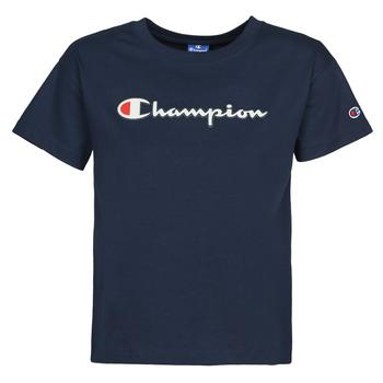 material Women short-sleeved t-shirts Champion KOOLATE Marine