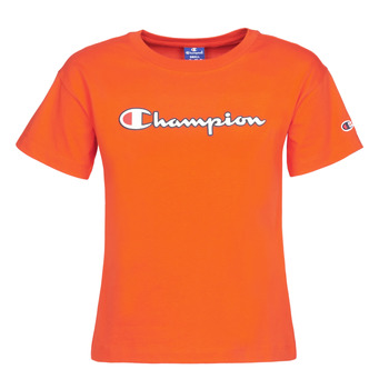 material Women short-sleeved t-shirts Champion KOOLATE Red